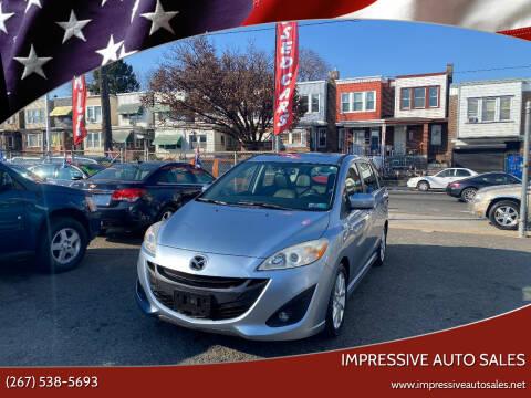 2012 Mazda MAZDA5 for sale at Impressive Auto Sales in Philadelphia PA