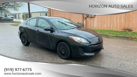 2012 Mazda MAZDA3 for sale at Horizon Auto Sales in Raleigh NC