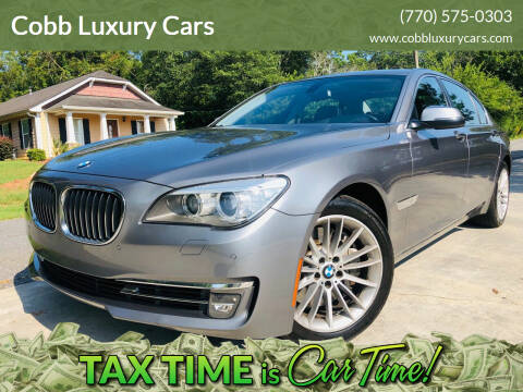 2014 BMW 7 Series for sale at Cobb Luxury Cars in Marietta GA