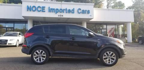 2016 Kia Sportage for sale at Carlo Noce Imported Cars INC in Vestal NY