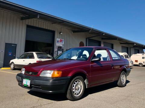 1996 Toyota Tercel for sale at DASH AUTO SALES LLC in Salem OR