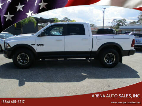 2017 RAM Ram Pickup 1500 for sale at ARENA AUTO SALES,  INC. in Holly Hill FL
