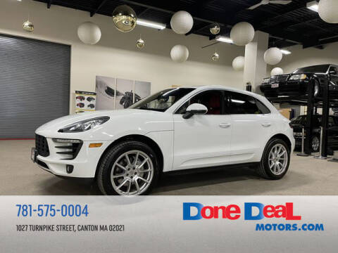 2016 Porsche Macan for sale at DONE DEAL MOTORS in Canton MA
