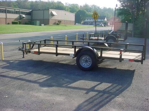 2022 Reiser Mfg 5' x 14' Utility Trailer for sale at S. A. Y. Trailers in Loyalhanna PA