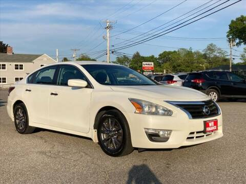2015 Nissan Altima for sale at AutoCredit SuperStore in Lowell MA