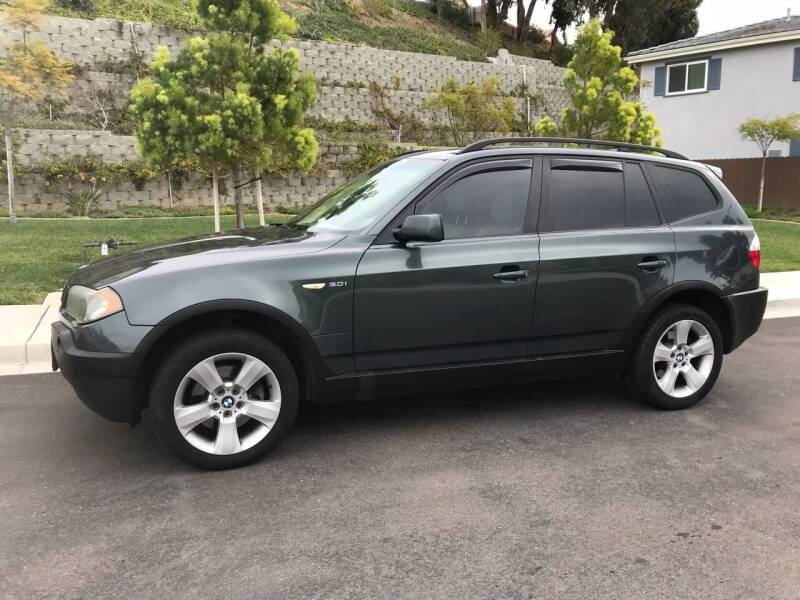 2004 BMW X3 for sale at CALIFORNIA AUTO GROUP in San Diego CA