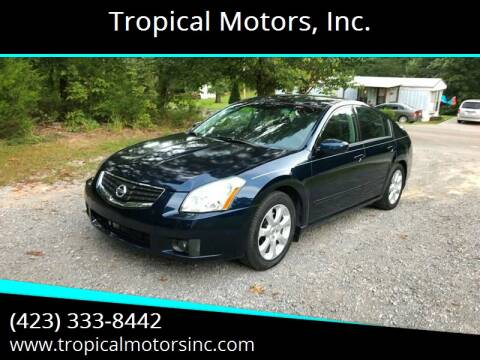 2008 Nissan Maxima for sale at Tropical Motors, Inc. in Riceville TN