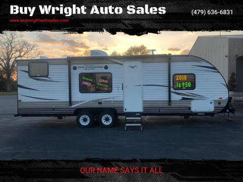 2019 Forest River Wildwood for sale at Buy Wright Auto Sales in Rogers AR