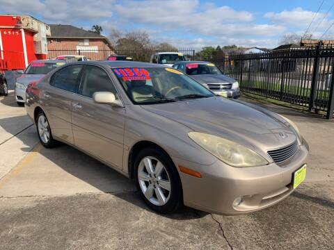 2005 Lexus ES 330 for sale at JORGE'S MECHANIC SHOP & AUTO SALES in Houston TX