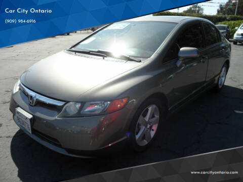 2007 Honda Civic for sale at Car City Ontario in Ontario CA