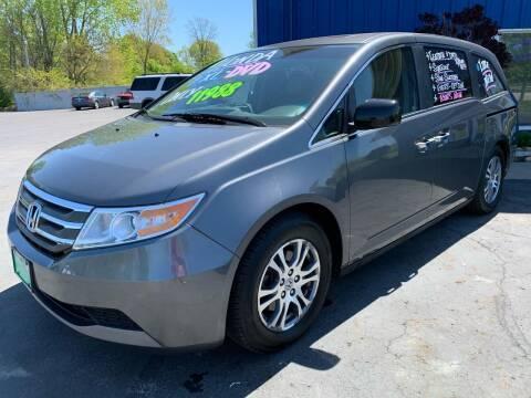 2012 Honda Odyssey for sale at FREDDY'S BIG LOT in Delaware OH