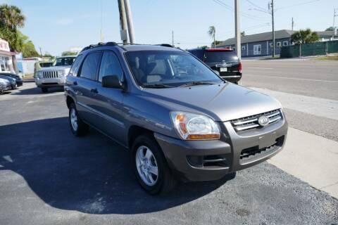 2008 Kia Sportage for sale at J Linn Motors in Clearwater FL