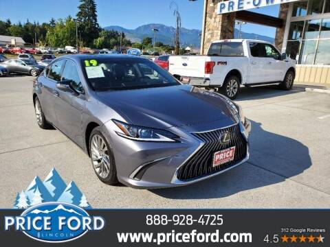 2019 Lexus ES 350 for sale at Price Ford Lincoln in Port Angeles WA