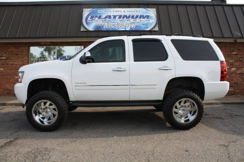 2012 Chevrolet Tahoe for sale at Platinum Auto World in Fredericksburg VA