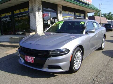 2015 Dodge Charger for sale at Cheyka Motors in Schofield WI