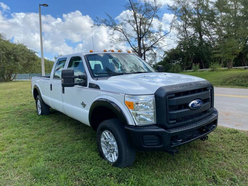 2011 Ford F-250 Super Duty for sale at Nation Autos Miami in Hialeah FL