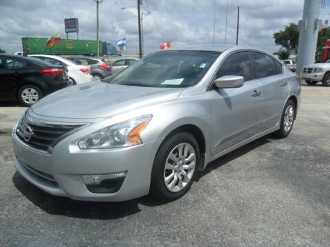 2015 Nissan Altima for sale at Talisman Motor City in Houston TX