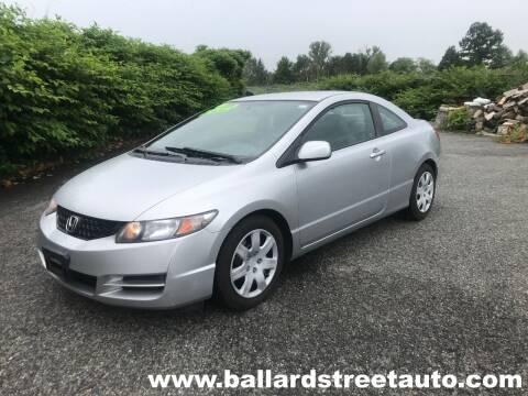2011 Honda Civic for sale at Ballard Street Auto in Saugus MA