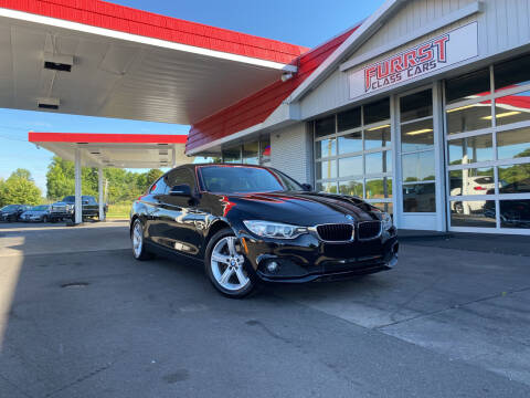 2015 BMW 4 Series for sale at Furrst Class Cars LLC in Charlotte NC