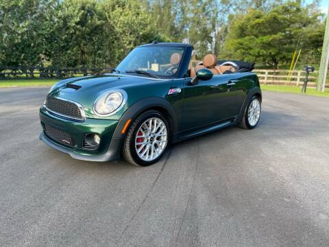 2014 MINI Convertible for sale at Ultimate Dream Cars in Royal Palm Beach FL