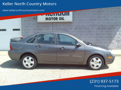 2007 Ford Focus for sale at Keller North Country Motors in Howard City MI
