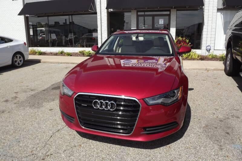 2014 Audi A6 for sale at Grand Rapids Motorcar in Grand Rapids MI