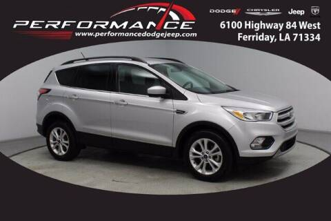 2018 Ford Escape for sale at Performance Dodge Chrysler Jeep in Ferriday LA
