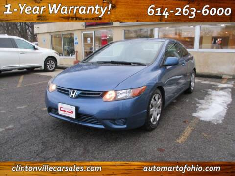 2007 Honda Civic for sale at Clintonville Car Sales - AutoMart of Ohio in Columbus OH