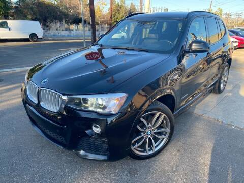 2016 BMW X3 for sale at West Coast Motor Sports in North Hollywood CA