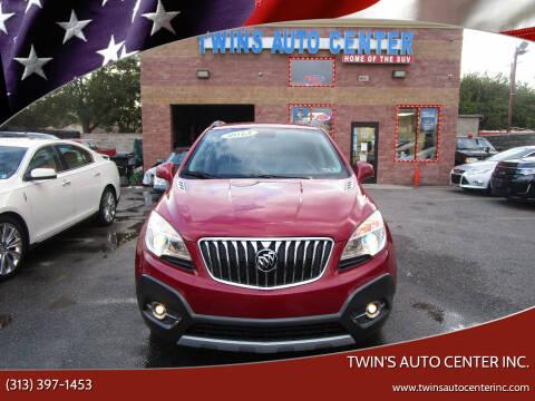 2013 Buick Encore for sale at Twin's Auto Center Inc. in Detroit MI