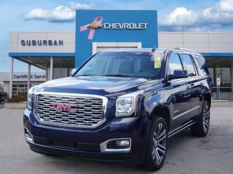 2018 GMC Yukon for sale at Suburban Chevrolet of Ann Arbor in Ann Arbor MI