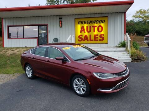 2015 Chrysler 200 for sale at Greenwood Auto Sales in Greenwood AR