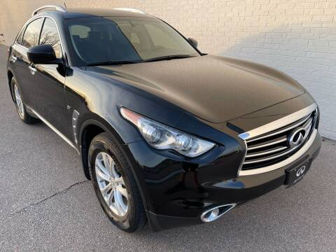 2015 Infiniti QX70 for sale at Best Value Auto Sales in Hutchinson KS