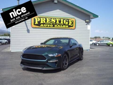 2020 Ford Mustang for sale at PRESTIGE AUTO SALES in Spearfish SD