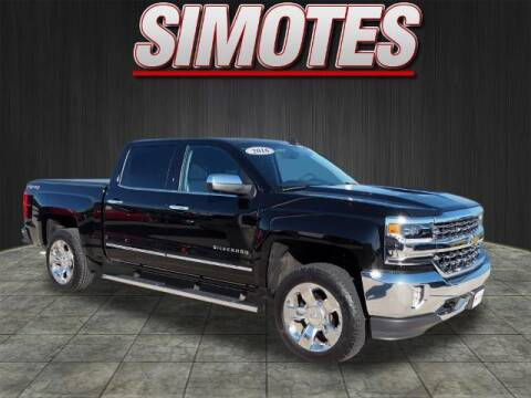 2016 Chevrolet Silverado 1500 for sale at SIMOTES MOTORS in Minooka IL