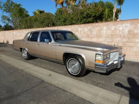 1985 Cadillac Fleetwood Brougham for sale at California Cadillac & Collectibles in Los Angeles CA