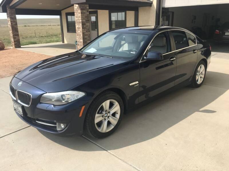 2012 BMW 5 Series for sale at Bradley Motors Inc in Colorado Springs CO