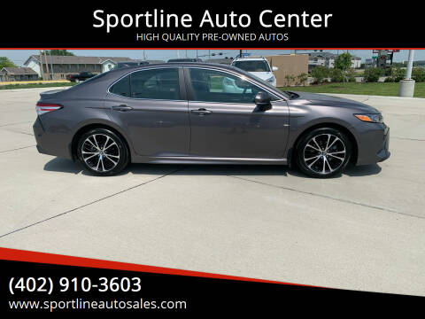 2020 Toyota Camry for sale at Sportline Auto Center in Columbus NE