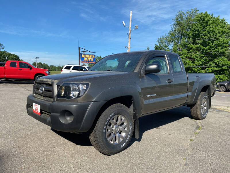2010 Toyota Tacoma for sale at Dubes Auto Sales in Lewiston ME