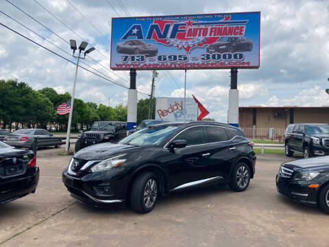 2015 Nissan Murano for sale at ANF AUTO FINANCE in Houston TX