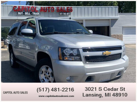 2013 Chevrolet Suburban for sale at Capitol Auto Sales in Lansing MI