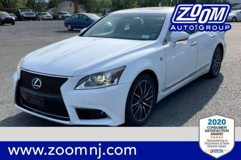 2014 Lexus LS 460 for sale at Zoom Auto Group in Parsippany NJ