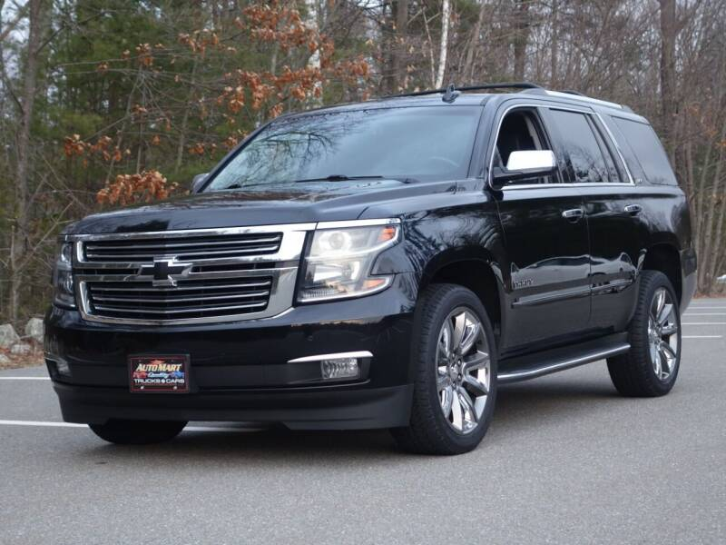 2016 Chevrolet Tahoe for sale at Auto Mart in Derry NH