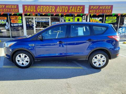 2015 Ford Escape for sale at Paul Gerber Auto Sales in Omaha NE