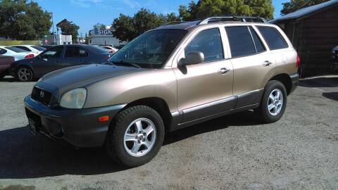 2004 Hyundai Santa Fe for sale at Larry's Auto Sales Inc. in Fresno CA