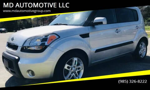 2011 Kia Soul for sale at MD AUTOMOTIVE LLC in Slidell LA