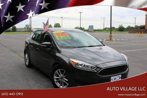 2016 Ford Focus for sale at AUTO VILLAGE LLC in Lebanon TN