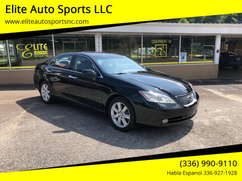 2008 Lexus ES 350 for sale at Elite Auto Sports LLC in Wilkesboro NC