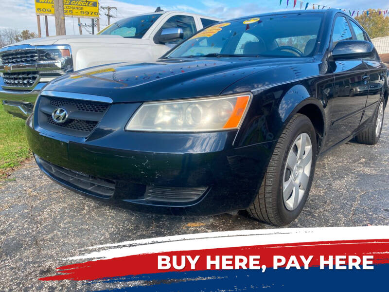 2006 Hyundai Sonata for sale at WINNERS CIRCLE AUTO EXCHANGE in Ashland KY