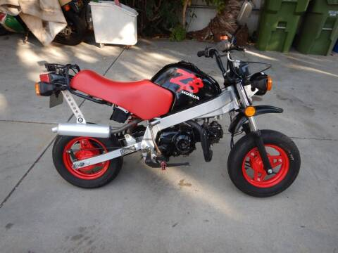 1988 Honda ZB50 for sale at California Cadillac & Collectibles in Los Angeles CA